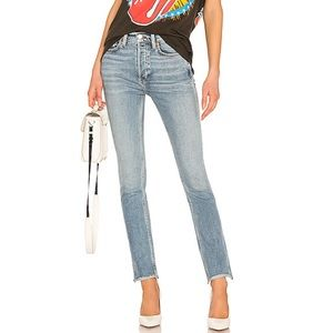 Re/Done Double Needle Long Stretch Jeans 30 NWT